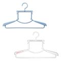 ハンガー ハイネック フード付き衣類用 セット すべらない 洗濯 速乾 乾きやすい パーカー タートルネック ハイネックハンガー 20本組