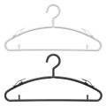 ハンガー カットソーハンガー セット すべらない カットソー 洗濯 収納 クリップ エフフィット カットソーハンガー 20本組
