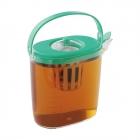 麦茶ポット 耐熱 冷水ポット 日本製 茶こし付き らくっ茶
