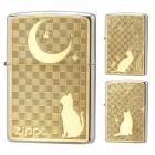 zippo ジッポー ライター オイルライター メタルプレー…