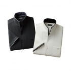 二重変化衿五分袖シャツ2枚組 50254