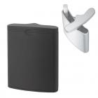 携帯灰皿 ハニカム 3 ブラック  591-2002