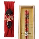 箸 名入れ 21.0cm 若狭塗日本製  孔雀 063553