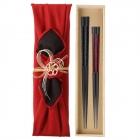 夫婦箸 結婚祝い 桐箱 箸 ペア 二膳セット 高級箸 粋柄…