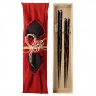 夫婦箸 結婚祝い 桐箱 箸 ペア 二膳セット 最高級箸 伝…