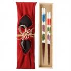 夫婦箸 結婚祝い 桐箱 箸 ペア 二膳セット 高級箸 若狭…