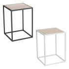 サイドテーブル 木製 スチール おしゃれ テーブル イン…
