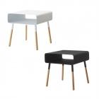 サイドテーブル おしゃれ シンプル ローサイドテーブル…