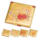 手鏡 ハンドミラー 和風 和柄 箔工芸 桜ロマン 角コン…