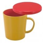 マグカップ フタ付 コップ プラスチック 電子レンジ対…