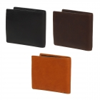 財布 メンズ 二つ折り ディアスキン 二つ折り財布