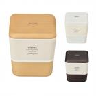 弁当箱 2段 レンジ対応 食洗機対応 ARBRE スクエアネス…