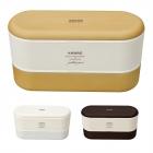 弁当箱 2段 レンジ対応 食洗機対応 食洗器対応 ARBRE …