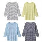 シャツ レディース UVカット 7分袖Tシャツ 日焼け対策…