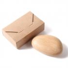ペーパーウェイト 名入れ 木製 磁石付き マグネット ク…