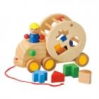 知育玩具 1歳 型はめパズル 木のおもちゃ 出産祝い ウ…