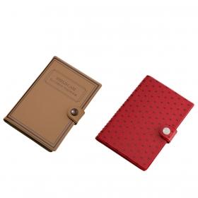 カードケース 大容量 スキミング防止 40枚 カードシールドケース  ブック型 全2種類