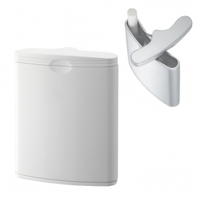 携帯灰皿 ハニカム 3 ホワイト 591-2001