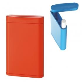 携帯灰皿 スリム ハニカム式  オレンジ 599-1003