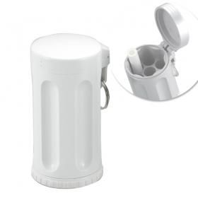 携帯灰皿 ハニカムJr 586-0002 ホワイト