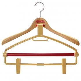 ハンガー 木製 木製ハンガー ハンガーキャット WOODシリーズ 40マルチ ナチュラル