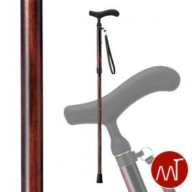 杖 折りたたみ 軽量 折りたたみ式杖 カーボン製 愛杖 C-78 ストラップ付き