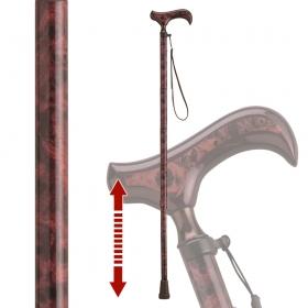 伸縮杖 伸縮型杖 愛杖 Fx-15A ストラップ付き