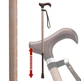 杖 光る 反射 伸縮杖 伸縮型杖 愛杖キラリ KR-3 ストラップ付き