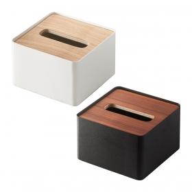 ティッシュボックス ティッシュカバー 蓋付きティッシュケース リン RIN S