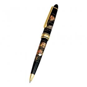 ボールペン 海外 土産 日本のお土産 山中塗 漆芸ボールペン 新扇面 M15981-3