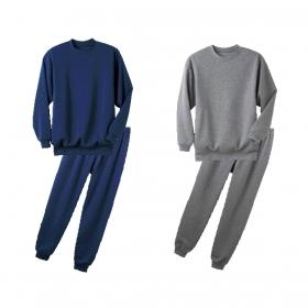 パジャマ メンズ 長袖 裏起毛 あったか 裏起毛パジャマ 男性用 全2色 M-3L