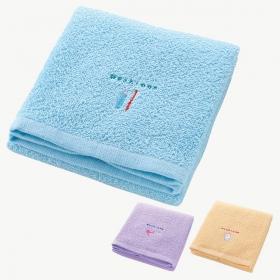タオル フェイスタオル サニタリー 洗面所用タオル 3柄組 モーニング 431090