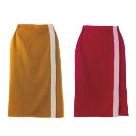 ルームウェア ホームウェア あったか 防寒 冷え対策 ひざ掛け 秋冬 ムートン風巻きスカート