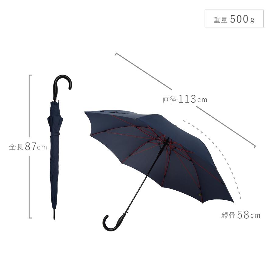 傘 雨傘 耐風 風に強い ジャンプ傘 高強度傘 ストレングスジャンプ mabu